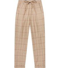 kiton trousers virgin wool