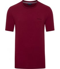 camiseta malha básica bordô - kanui