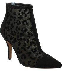 women's j. renee sosian bootie, size 8.5 b - black