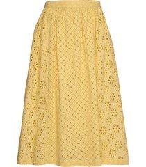 day casa knälång kjol gul day birger et mikkelsen