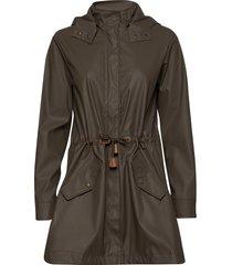 sc-alexa outerwear rainwear rain coats grön soyaconcept