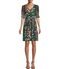 tommy hilfiger women's garden path shift dress - garden combo - size 4