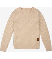 jacquard sweater neutral 54
