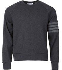 classic 4-bar waffle sweatshirt,