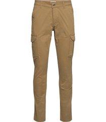 moto 2 trousers cargo pants brun napapijri