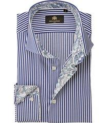 circle of gentlemen overhemd dave strepen slim fit