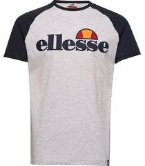 el piave tee t-shirts short-sleeved grå ellesse