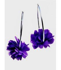 aros acero argollas cavancha violeta viva felicia