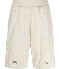a-cold-wall* elasticated bermuda shorts - neutrals