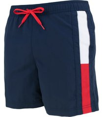 tommy hilfiger heren zwembroek side logo - navy