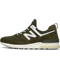 zapatillas new balance 574 sport tier 1 green
