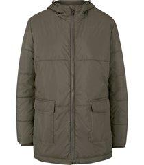 giacca con cappuccio e tasche (verde) - bpc bonprix collection