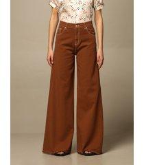 lautre chose jeans lautre chose wide jeans with 5 pockets