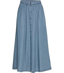 moira midi skirt knälång kjol blå soft rebels