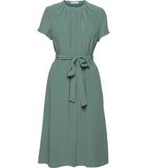 dibanora3 knälång klänning grön boss