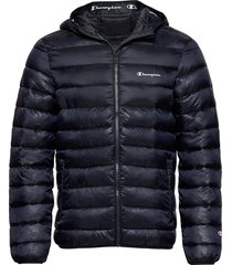 hooded jacket fodrad jacka blå champion