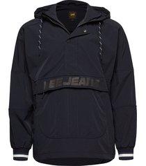 anorak outerwear jackets anoraks zwart lee jeans