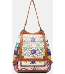 big backpack paisley - red - u