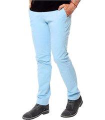 pantalón chelsea para hombre - azul peri