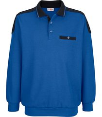 sweatshirt roger kent royal blue::marine