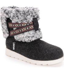 women's tamara cold weather furry booties women's shoes