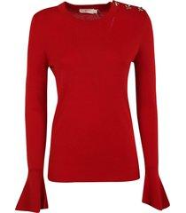 tory burch bijoux button sweater