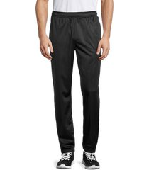 fila men's drawstring stretch pants - black - size xxl