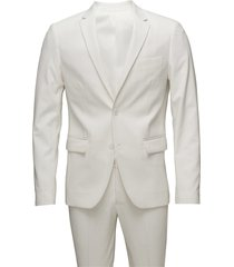 plain mens suit pak wit lindbergh