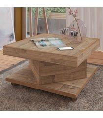 mesa de centro saara rustico - artely