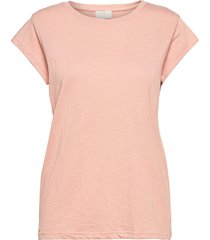 leti tee t-shirts & tops short-sleeved rosa minus
