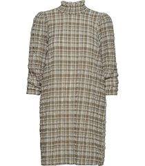 hamilton dress kort klänning beige just female
