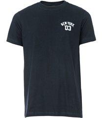 camiseta new era new york azul-marinho - azul marinho - masculino - dafiti