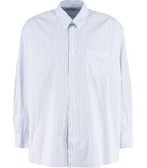 our legacy borrowed bd striped cotton shirt