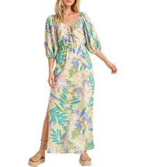 women's billabong today's wish maxi dress