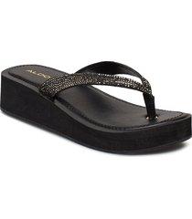 yberani shoes summer shoes flat sandals svart aldo