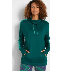 outdoor sweater, lange mouw