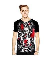 camiseta stompy raglan modelo 123 masculina