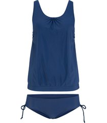 tankini (set 2 pezzi) (blu) - bpc bonprix collection
