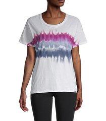 chevron tie-dye t-shirt