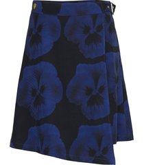 zari pr knälång kjol blå tiger of sweden jeans