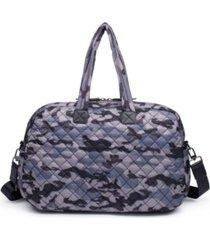 sol and selene women's getaway quilted duffle bag