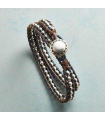 blue jeans wrap bracelet