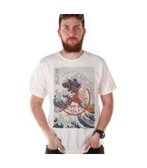 camiseta bandup! bdp clothing eyes of tropicalia masculina