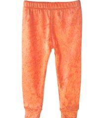 legginsy velour orange