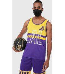 esqueleto amarillo-morado nba los lakers
