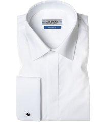 ledub smoking overhemd tailored fit wit