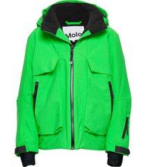 alpine outerwear snow/ski clothing snow/ski jacket groen molo