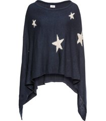 poncho con stelle (blu) - bpc bonprix collection