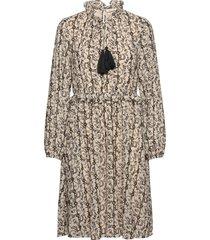 dress jurk knielengte beige sofie schnoor