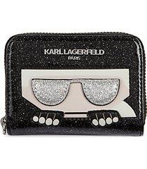 pvc zip-around card wallet